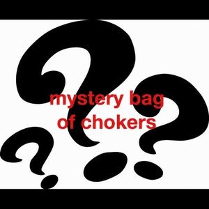 Jewelry - Mystery bag of chokers